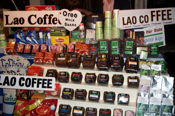 Laos Coffee indochina souvenirs