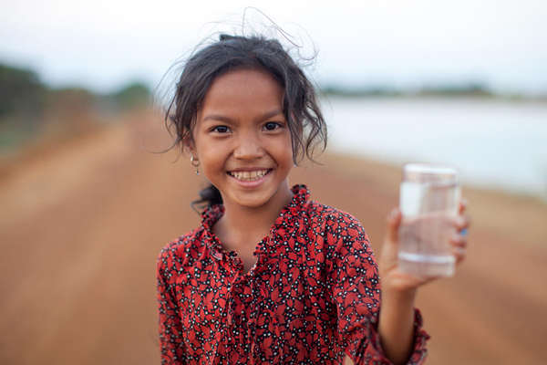 Filter water is a good idea when traveling in Indochina countries