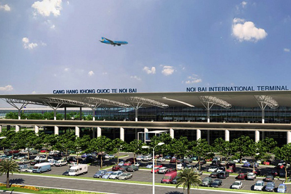 Noi Bai International Airport, Hanoi, Vietnam
