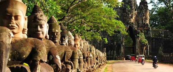 November is a good time to visit Angkor, Siem Reap