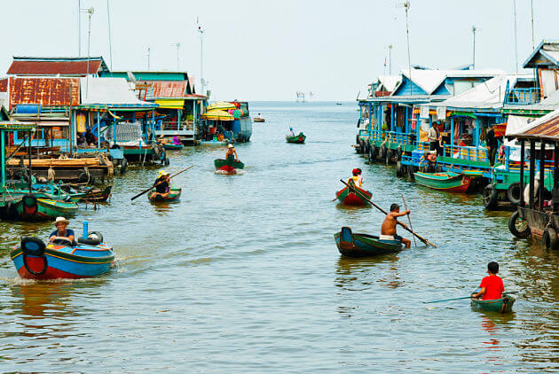 cambodia floating village in rainy season best time to visit cambodia