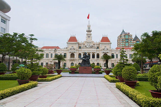 reunification palace saigon ideal time to visit vietnam