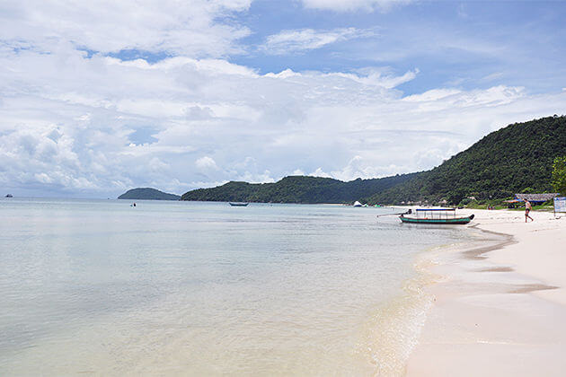 sunny day in phu quoc beach indochina weather