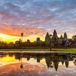 Angkor Wat at dusk indochina tours