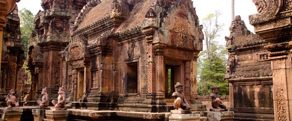Banteay Srei Temple is the temple for women