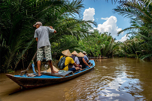 Boat trip Mekong Delta - Grand Southeast Asia 19 Days