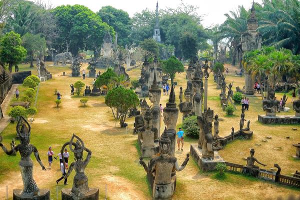 Buddha Park of Xieng Khuan - Indochina 15 Day Trip