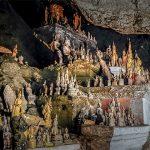 Buddha Statues in Pak Ou Caves