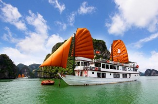 Cruise along the majestic Halong Bay
