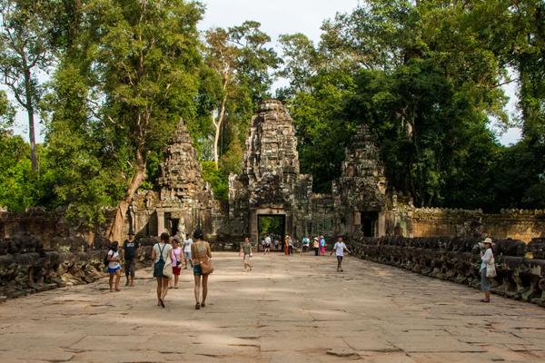 Entrance way to Preah Khan Temple