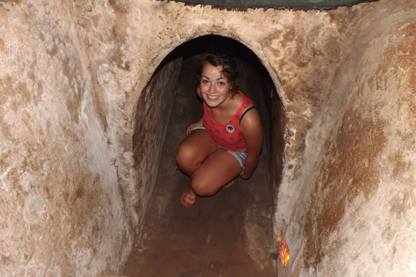 Experience the Tunnel of Cu Chi
