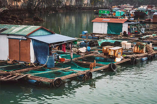 Fishing Village on Halong Bay - Southeast Asia Holiday Packages