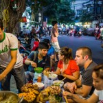Food tasting tour in Hanoi