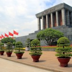 Ho Chi Minh Mausoleum in Ba Dinh Square