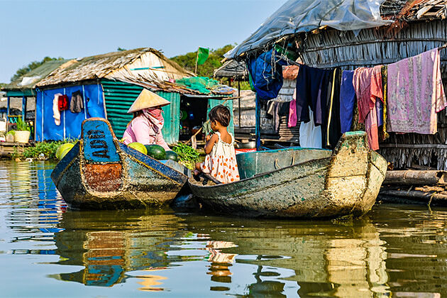 Kampong Khleang Cambodia - Southeast Asia Tour Package 19 Days