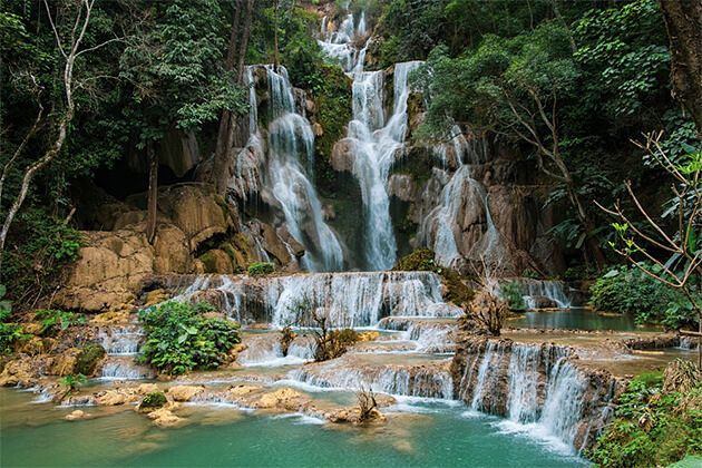 Kuang Si Waterfall - Grand Southeast Asia Tour 19 Days