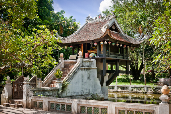 One Pillar Pagoda Hanoi - 25 Day Indochina Tour Package