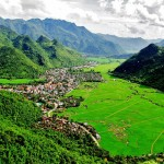 Panoramic view of Mai Chau