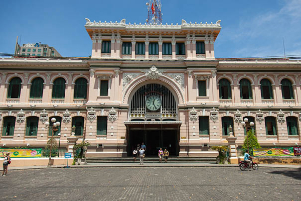 Saigon Central Post Office - Tours to Vietnam and Cambodia