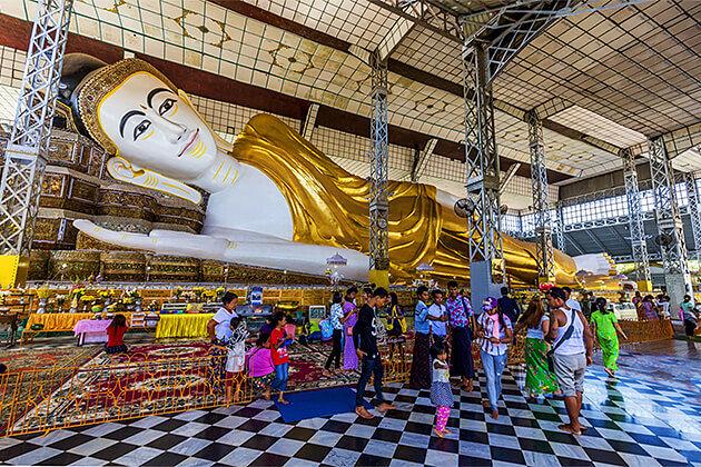 Shwe Tha Lyaung Buddha Bago Southeast Asia Tour