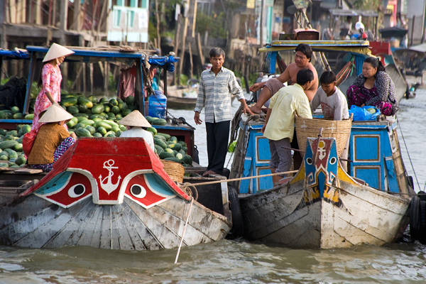 Cai Rang Floating Market - 12 Days in Vietnam and Cambodia