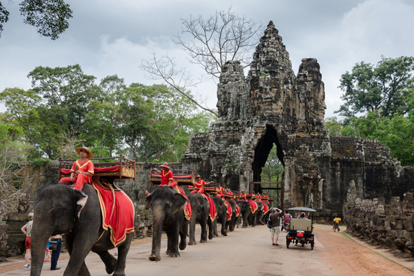 Southern Gate of Angkor Thom