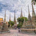 Stupas at Wat Pho