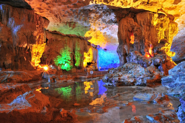 Sung Sot Cave - Indochina Tour Package 25 Days