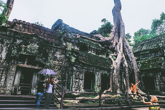 Ta Phrom - 15 Day Trip in Indochina