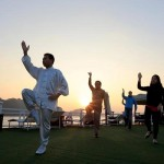 Tai Chi on halong Bay Cruise