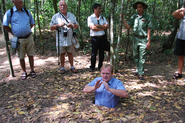 Cu Chi Tunnels - Vietnam and Cambodia Tours