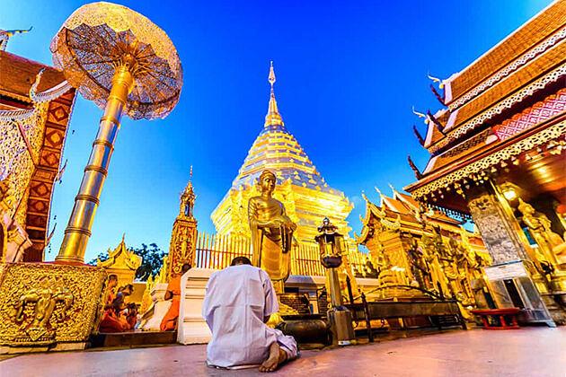 Wat Prathat Doi Suthep Chiang Mai - Southeast Asia Trip 19 Days