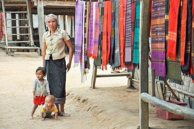 Weaving Village Luang Prabang Southeast Asia Vacations