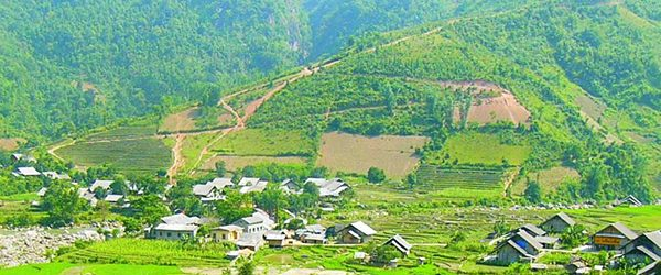 Ban Ho is situated in a beautiful valley