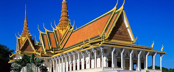 Main building of Cambodian Royal Palace