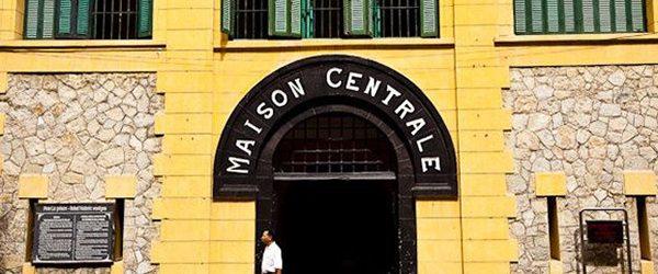 Main entrance of Hoa Lo Prison