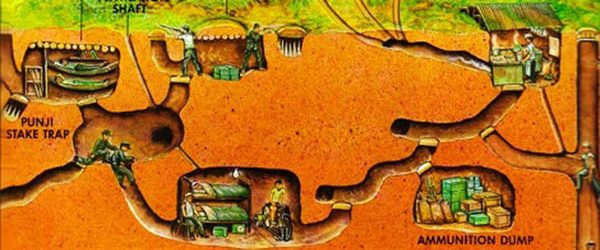 Map of Cu Chi Tunnels