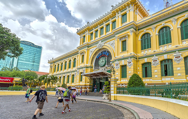 Saigon Central Post Office - Indochina Tours