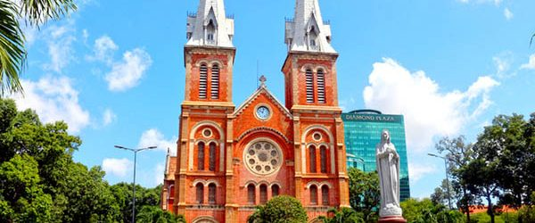 Saigon Notre Dame Cathedral today