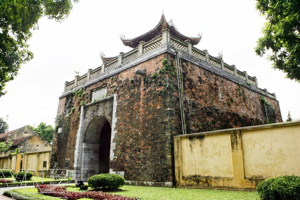The North Gate of Imperial Citadel of Thang Long