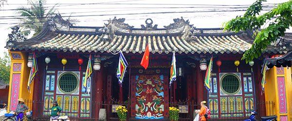The main facade of Ong Pagoda