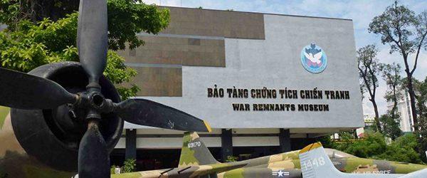 The main facade of War Remnants Museum