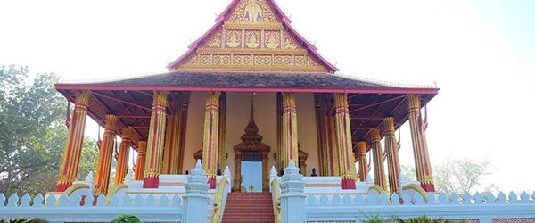 Wat Phra Keo on a sunny day