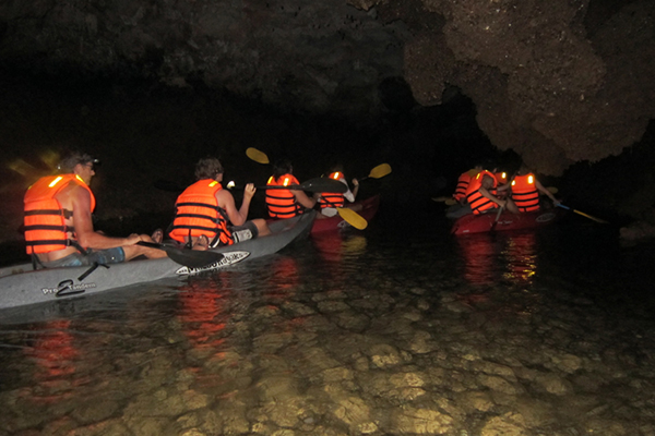 The Bright & Dark Cave, Ha Long Bay