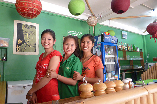 Bamboo Lounge is the most popular location which offers the reposeful and welcoming setting in Luang Nam Tha