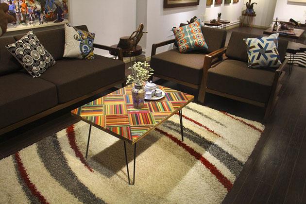 Colored-Pencil Table - Home Decor
