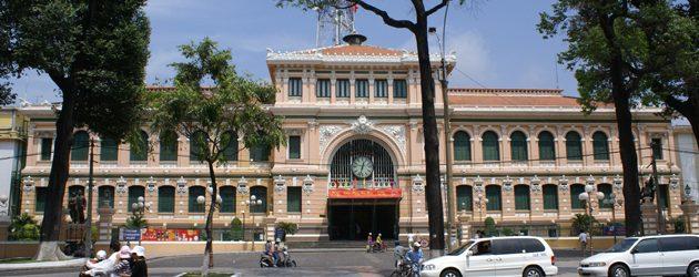 General Post Office in Saigon, Vietnam