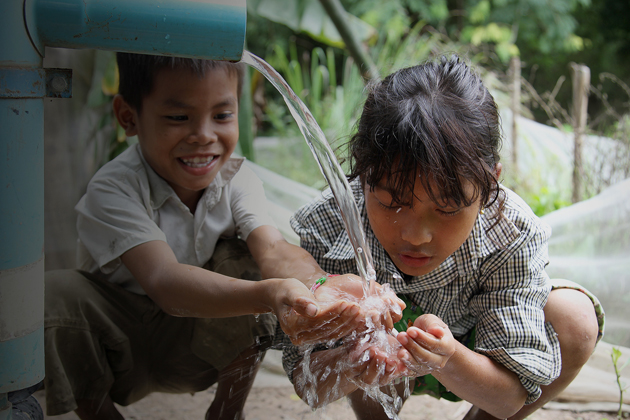 It is not recommended to drink water on tap in Indochina countries