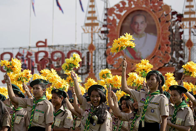 King Norodom Sihamoni's Birthday cambodia holidays
