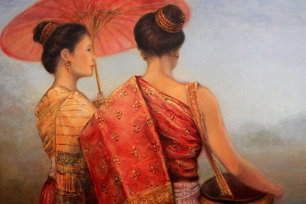 Laos Painting